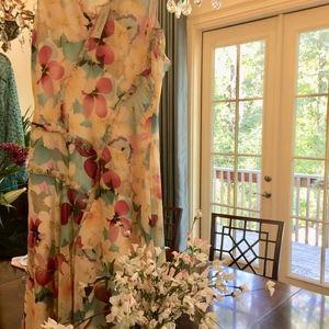Sundance Orchid Sky Silk Dress - NWT